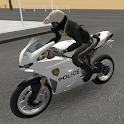 Police Motorbike Road Rider icon