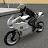 Police Motorbike Road Rider logo