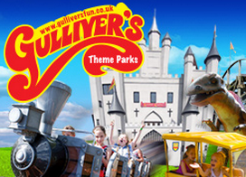 visit gulliver's theme parks using our chauffeur services
