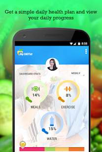 MyDIETist Lose Weight Stay Fit- screenshot thumbnail