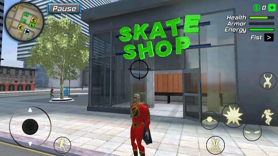 Amazing Powerhero : New York Gangster v1.0.1 MOD 4