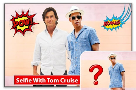 Selfie With Tom Cruise - Hollywood Rockstar - náhled