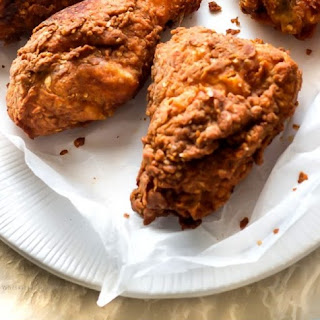 Southern Buttermilk Brined Fried Chicken.