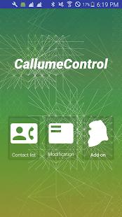 Callume : Call volume control. - náhled
