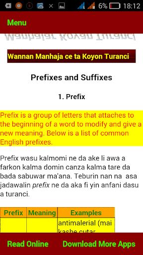 Mu koyi Turanci screenshot 5