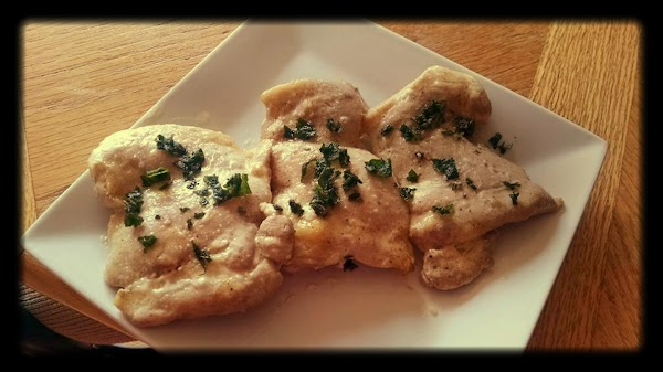 Chicken With Alabama White Bbq Sauce & Fried Sage Recipe