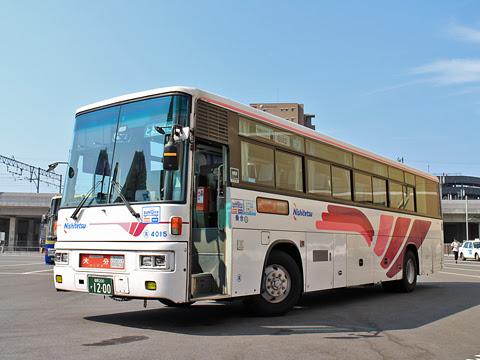 西日本鉄道「とよのくに号」スーパーノンストップ便 4015