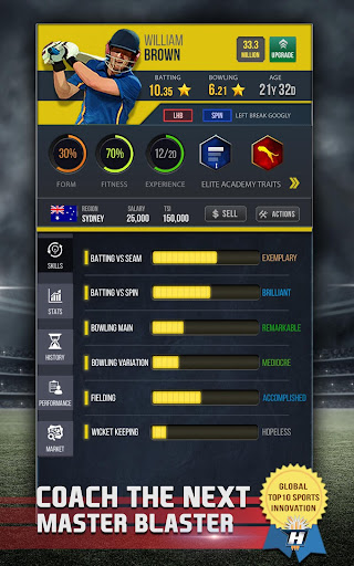 Hitwicket™ T20 Cricket Game 2018 for PC