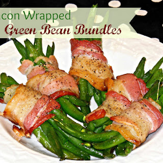 Tasty Green Bean Bacon Bundles