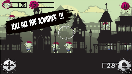 Zombie Target Shooting for Kid- screenshot thumbnail