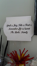 Photo: Personalized Message Boards for your Candy Buffet Table by http://www.BestPartyPlanner.net