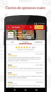 JUST EAT - Comida a domicilio screenshot 03