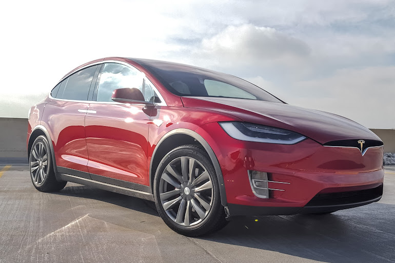 rent a multi coat red tesla model x in chicago getaround. Black Bedroom Furniture Sets. Home Design Ideas