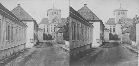 Photo: 3d bilde - mot kirken