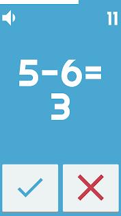 Aplikacje Speed Math 2018 - Ad free (apk) za darmo do pobrania dla Androida / PC/Windows screenshot