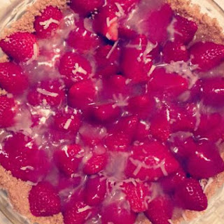 Strawberry Coconut Tart