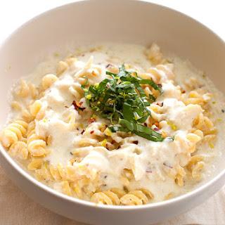 Roasted Garlic Ricotta Pasta Sauce.