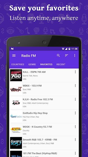 Radio FM 9.3.1 screenshots 4