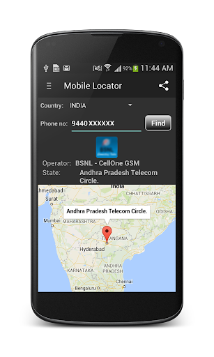 Phone Number Locator  screenshots 2