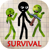Stickman Zombie Survival 3D