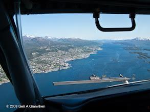 Photo: Approach into Molde, Western Norway (ENML/MOL)