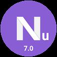 Nu Launcher - Nougat Launcher style, 7.0
