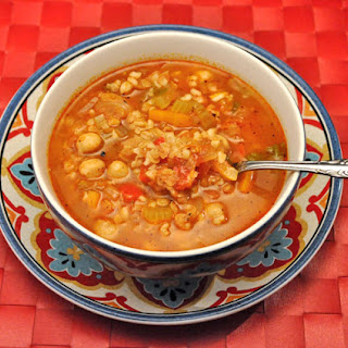 Spicy Moroccan Tomato Soup.