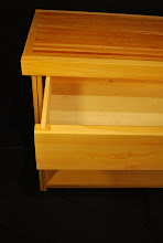 Photo: Close up view of our large and well made drawers that are made from real wood, no mdf or particle board