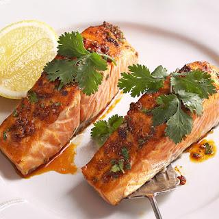 Salmon with Chermoula