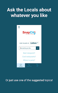 SnapCity – Ask the Locals and Get Tips for Free - náhled