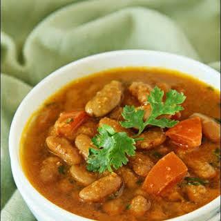 Rajma (Red Kidney Beans In A Spicy Gravy).
