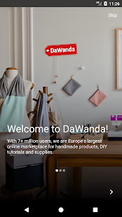 DaWanda - Shop Unique and Handmade Gifts- screenshot thumbnail