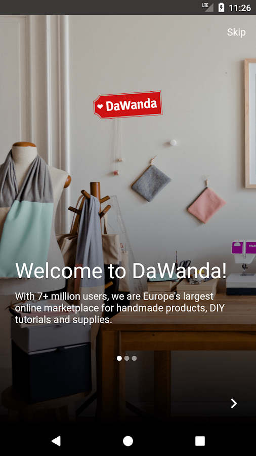 DaWanda - Shop Unique and Handmade Gifts- screenshot