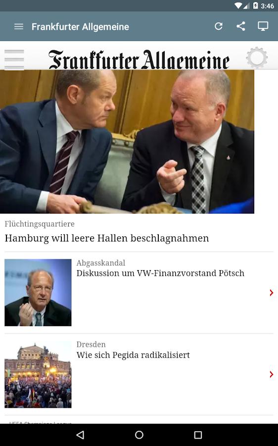 Deutsche Zeitungen- screenshot