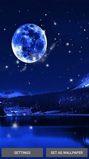 달빛 라이브 배경 화면