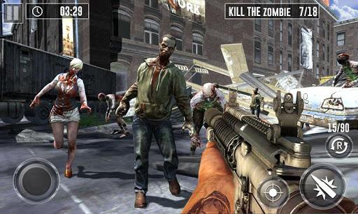 Zombie Hunter Game 2019 - Last Battle Survival  captures d'écran 2