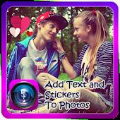 Write On Photos&&Photo Stickers
