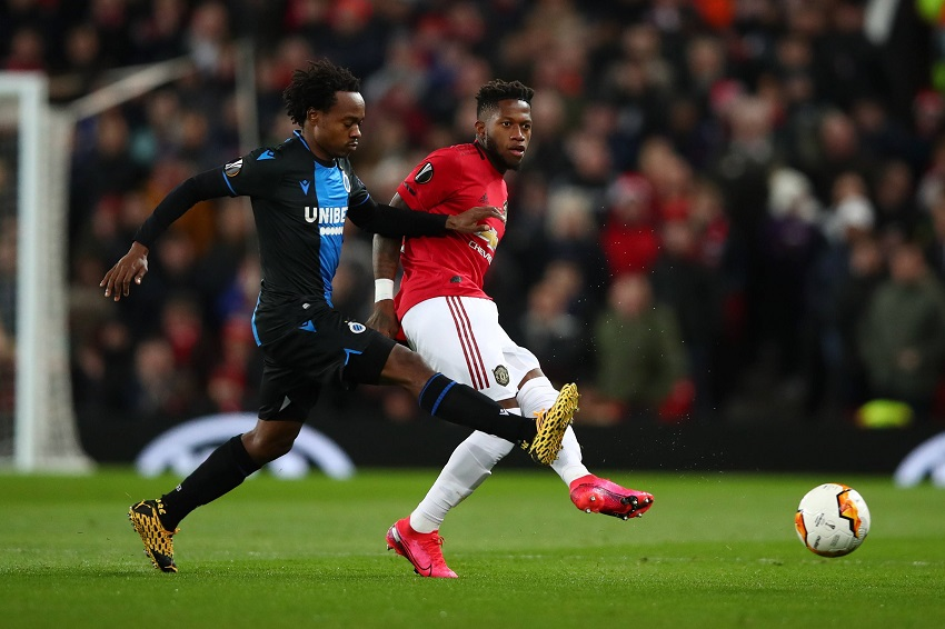 Percy Tau takes flak after Brugge's Old Trafford rout - TimesLIVE
