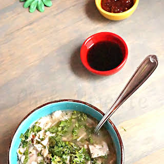 Burmese West Coast Mohinga ~ Breakfast Soup.