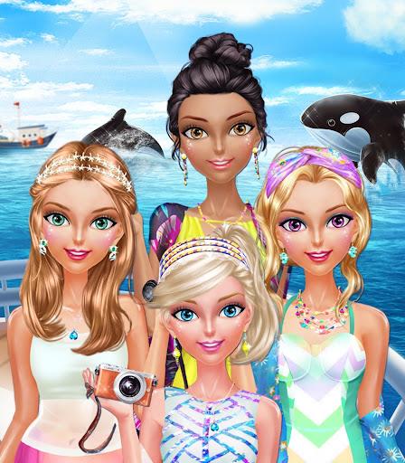 玩休閒App|女孩的海洋浪漫约会 - 一起看鲸鱼吧!免費|APP試玩