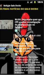 Relógio Galo Doido screenshot 5