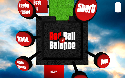 Red Ball Balance