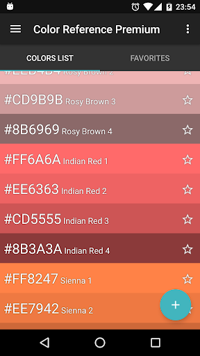 Color Reference. Colors, palettes and wallpapers! 19.0 screenshots 1