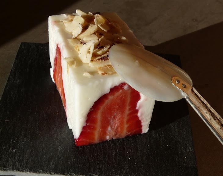 Light Strawberry Cubes Recipe