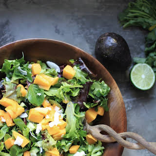 Jane's Mango and Coconut Summer Salad.