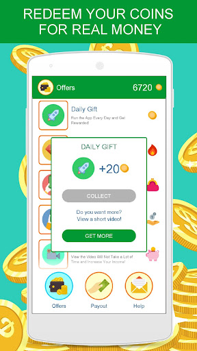Earn Real Money Earning Cash app (apk) free download for Android/PC/Windows screenshot