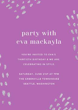 Eva's 30th Birthday - Birthday item