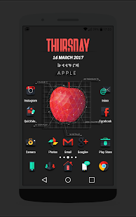 Darko - Icon Pack Screenshot
