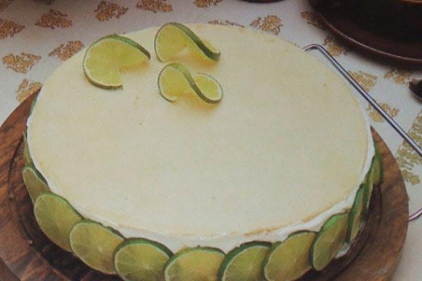 Torta de Queijo e Limão