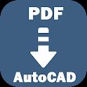 PDF to AutoCAD Converter icon